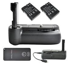 Hand Battery Grip Pack For Nikon D3100 D5100 w/ IR Remote +2X EN-EL14 Battery
