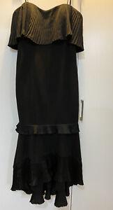 New Aidan Mattox Strapless Evening Gown Dress Size Us 0
