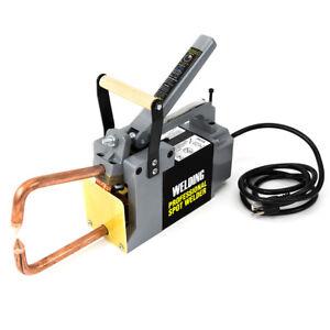 """Electric Spot Welder 1/8"""" Single Phase Portable Handheld Welding tip Gun 120 V"""