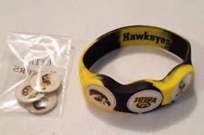 Wrist Skins Golf Ball Marker Bracelet,Iowa Hawkeyes, Magnetic,Size - L, M, S