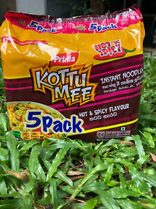 Noodles Kottu Mee 5 packets Prima instant family pack hot and extra spicy 400g