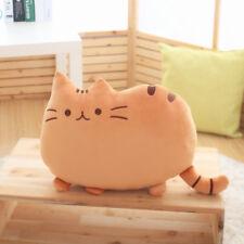 Cartoon Cat Cushion Plush Stuffed Throw Pillow Home Decor Kitty Kids Toy Doll