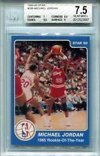 1984/85 Star #288 Michael Jordan ROY BGS 7.5 *3567