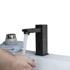 Bathroom Faucet Kitchen Automatic Sensor Hands Free Brass ORB Black Tap