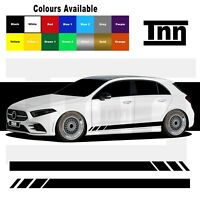 Side Stripe Stickers Graphics For Mercedes Benz A Class AMG Merc A45 Edition 1