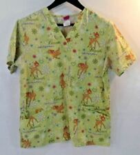 f88e3e88f24 Disney Green Scrub Tops for sale | eBay