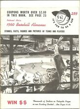 1960 National Association baseball almanac (minor leagues)