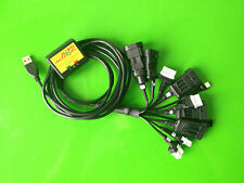 LPG GPL CNG USB Diagnose Programming Interface Kabel 11x LOVATO ZAVOLI V-Tec