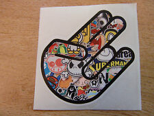 Shocker Hand - sticker bomb / rat look - decal 4in (100mm)