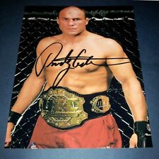 "RANDY ""THE NATURAL"" COUTURE PP SIGNED 10""X8"" PHOTO REPRO UFC MMA"