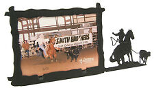"""Girl, Woman Breakaway Roping Rodeo Picture Frame 3.5""""x5"""" - 3""""x5"""" H"""