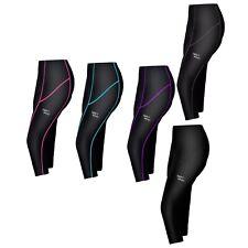 Women Ladies Cycling 3/4 Three Quarter Shorts Tights Padded Leggings Anti-Bac