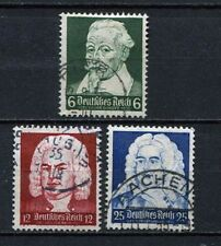 German Reich : Componist set from 1935 - used