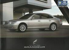 Hyundai Grandeur car (made in Korea) _2005 Prospekt / Brochure