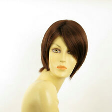 women short wig dark brown copper ALINE 31
