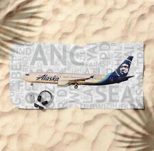 Alaska Airlines Boeing 737-210 1980/'s Logo Handmade Photo Magnet PMT1664
