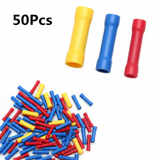 50Pcs Assorted Insulated Electrical Wire Cable Terminal Crimp Connector Set