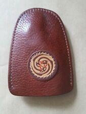 Vintage handmade leather