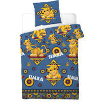 Lion King Duvet Cover Set Disney Single Bed 'Simba' 2019 Design