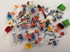 Playmobil Large Worker/Workmen Parts Bundle for spares - Read details