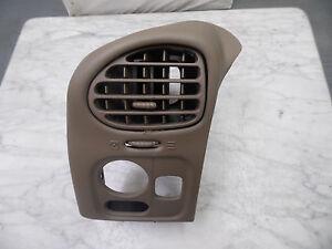 OEM 2004 Buick Rainier AWD SUV Cashmere Tan Headlight Control Panel Trim, vents