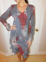 HABANA Printed Dress Size Small euc