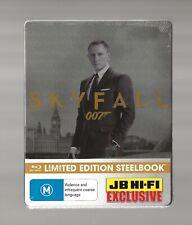 JAMES BOND 007 : SKYFALL - JB HI-FI EXCLUSIVE BLU RAY STEELBOOK - NEW & SEALED