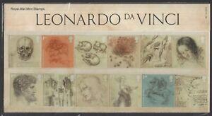 2019  Leonardo Da Vinci Presentation Pack 567   - Ref:5606