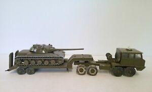 Tank Holder 5305 Berliet T12 + Char Amx 30T N°209 Of 1967-1965 Solido France