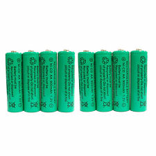 8 pcs AA 900mAh Ni-Cd  Ni-Cad 1.2V Rechargeable Battery RC Solar Green US Stock