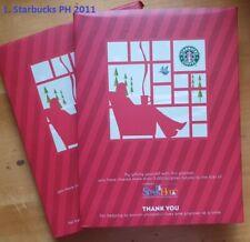 Starbuck Philippines 2011 Planner - The Third Place (Velvet)