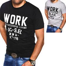DIESEL Herren T-Shirt T-WORK Poloshirt Dunkelgrau Weiß Schwarz Grau fc2e678936b9