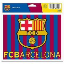 "International Soccer Team FC Barcelona 4.5""x5.75"" Multi-Use Colored Decal"