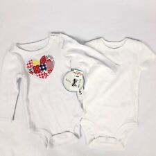 Nwt Lot Of 2 Carters Koala Baby Girl One Piece Outfits Size 0 3 Months