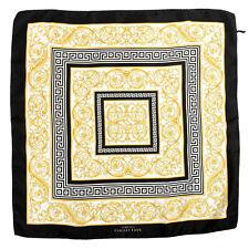 Versace Collection Multi-Color 100% Silk Scarf Shawl