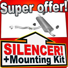 Rear Silencer NISSAN QASHQAI+2 1.5 DCI 06-09 (for without DPF!) Exhaust Box EHU