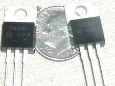 2 New On Semi 2n6388 Npn Darlington Power Transistor 80v 10a To 220 Ship Usa G