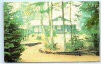 Lowville New York NY Unirondack Lodge Summer Church Camp Vintage Postcard B83