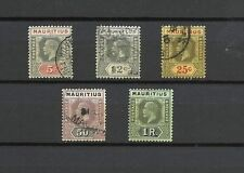 Used Single George V (1910-1936) Mauritian Stamps