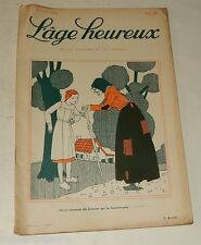 L'AGE HEUREUX N°3 du 6 février 1930 : Sports d'Hivers à SAINT-MORITZ – Pliage