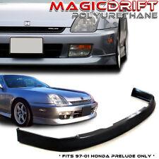 For 97-01 Honda Prelude Front Bumper Lip Spoiler Body Kit OE Optional Urethane P