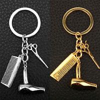 Ciseaux de coiffeur pour femmes, peigne, styliste, porte-clés BBTRFR