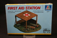 XW034 ITALERI 1/35 maquette 416 First Aid Station diorama poste secours avancé