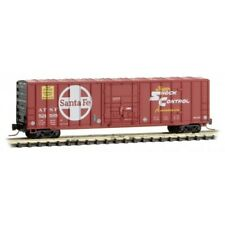 Z Scale Micro-Trains Mtl 51100272 Atsf Santa Fe 50' Rib Side Box Car #521585