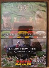 Zink Duck &Goose Calls Turkey Time University Vol.1 Mouth Calling Basics Dvd