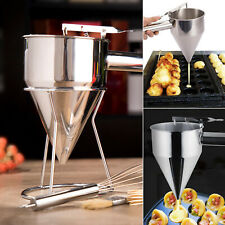 1PS Stainless Steel Octopus Fish Ball Tool Utensils Conical Funnel Kitchen Use