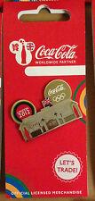LONDON 2012 OLYMPICS COCA COLA LANDMARK BUCKINGHAM PALACE PIN BADGE