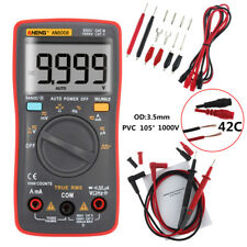 AN8008 True-RMS Digital Multimeter 9999 Counts AC/DC-Spannungsprüfer Amperemeter
