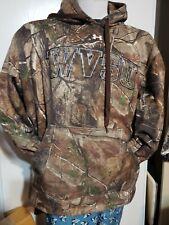Under armour realtree WVSU Camouflage Hunting Hoodie Pullover Jacket Men XXL
