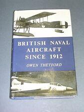 Aviation Avions militaires de la Marine britannique etude en anglais 1962